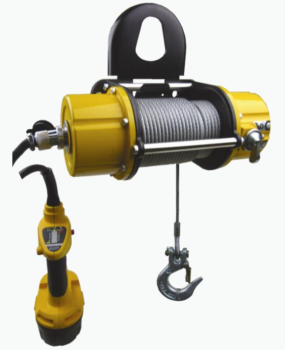 Portable Baby Winch DW-250 (Wireless and Battery Powered)