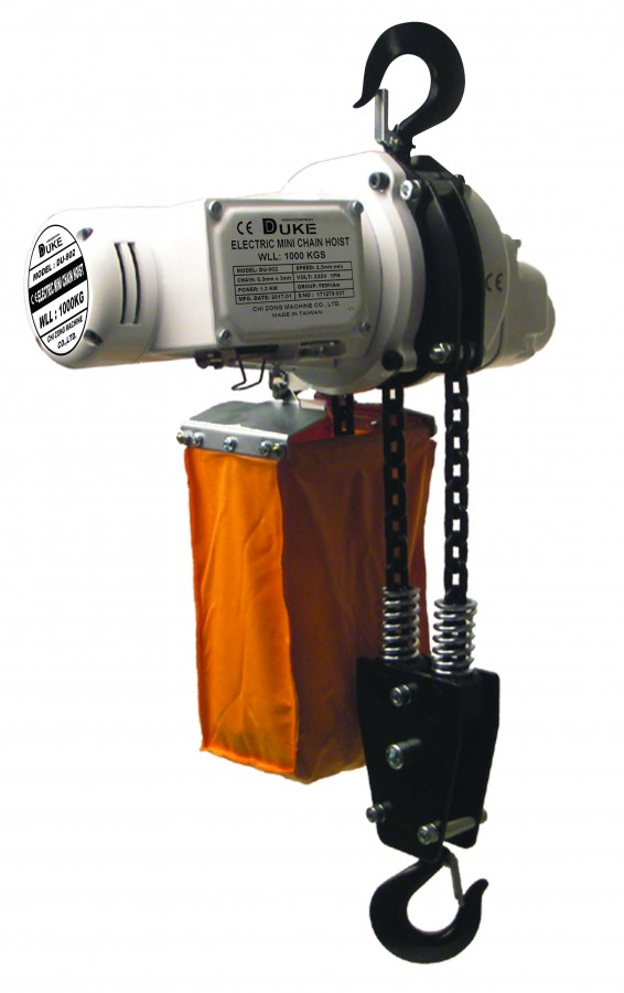 Mini Chain Hoist DU-902 (1,000 kg)