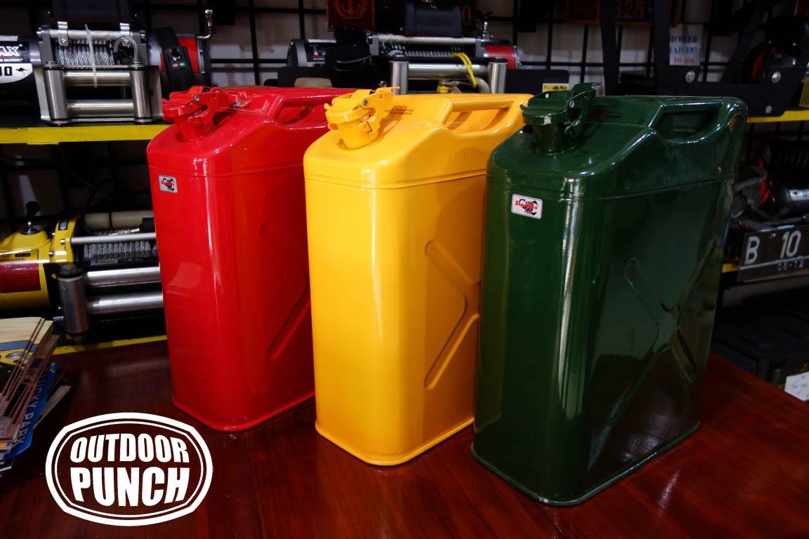 Metal Jerrycan 20 liter (Lever Cap)