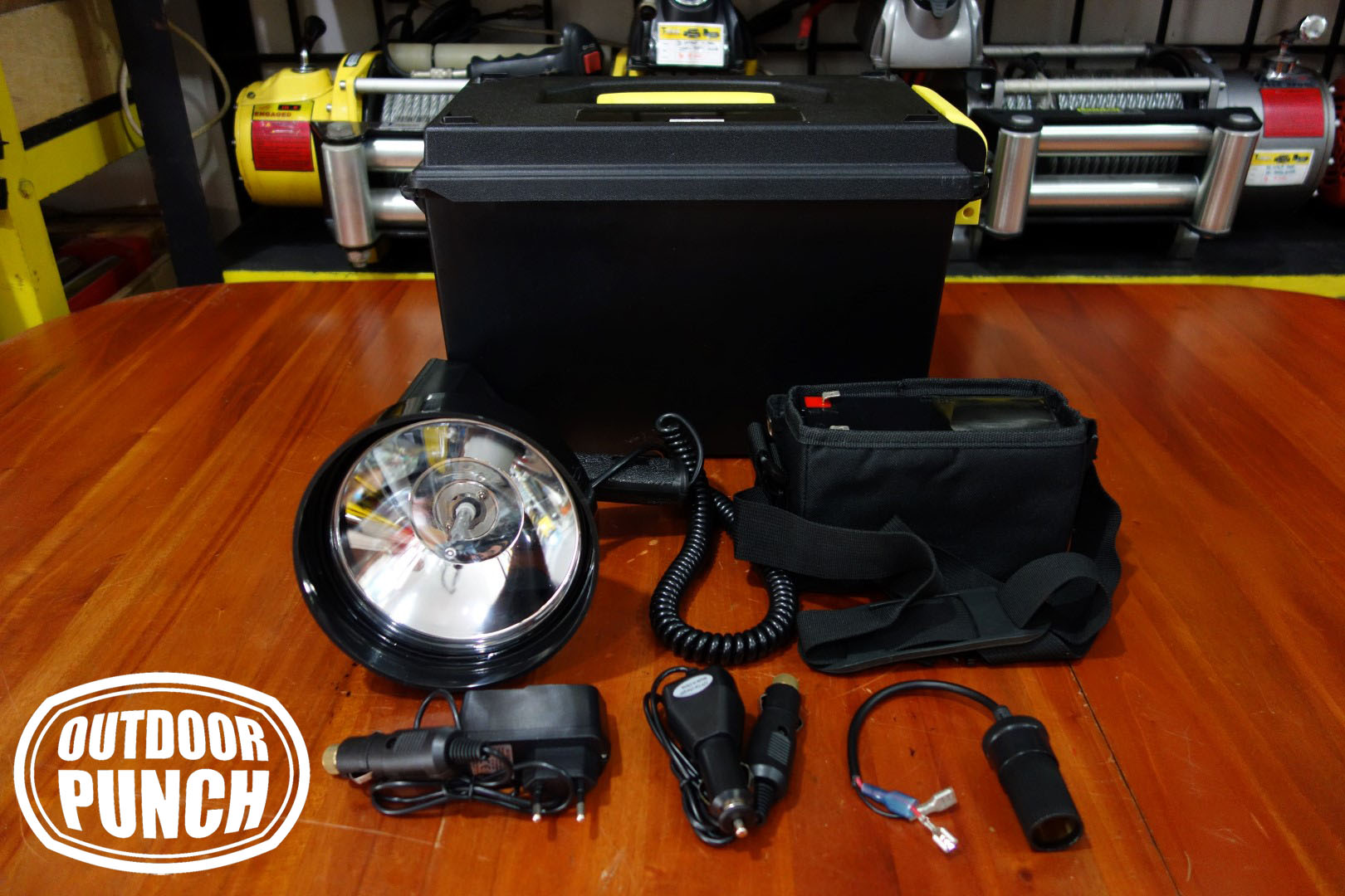 Hunting Spotlight HID 35w Complete Set