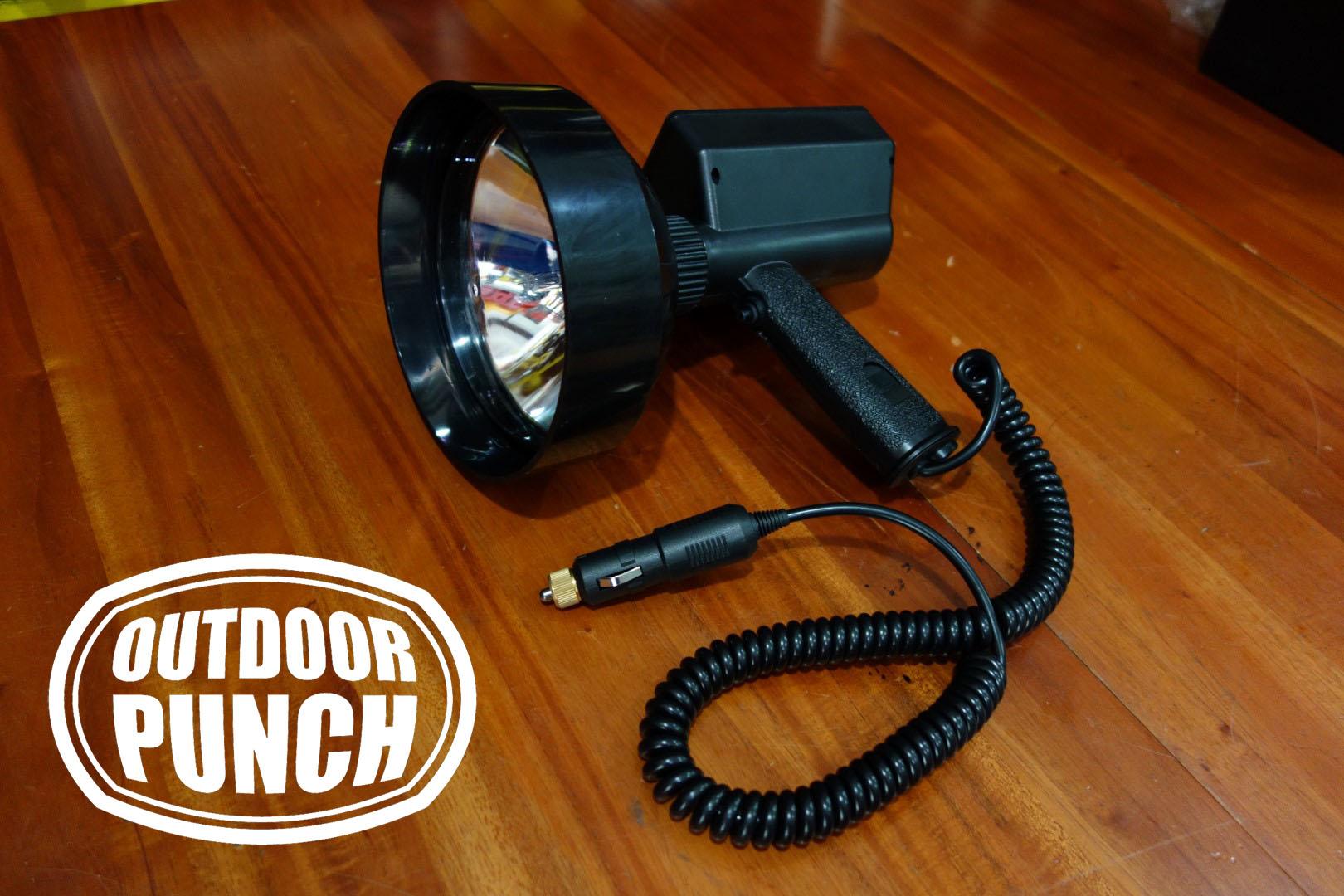 Hunting Spotlight HID Cigar Plug (Lampu Sorot Berburu)