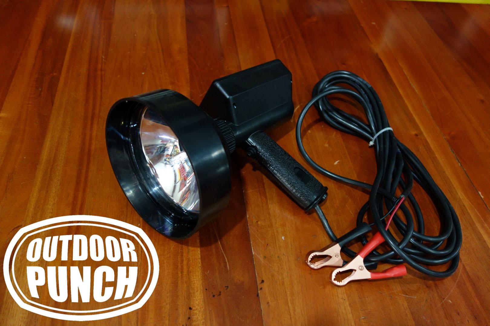 Hunting Spotlight HID Crocodile Plug (Lampu Sorot Berburu)