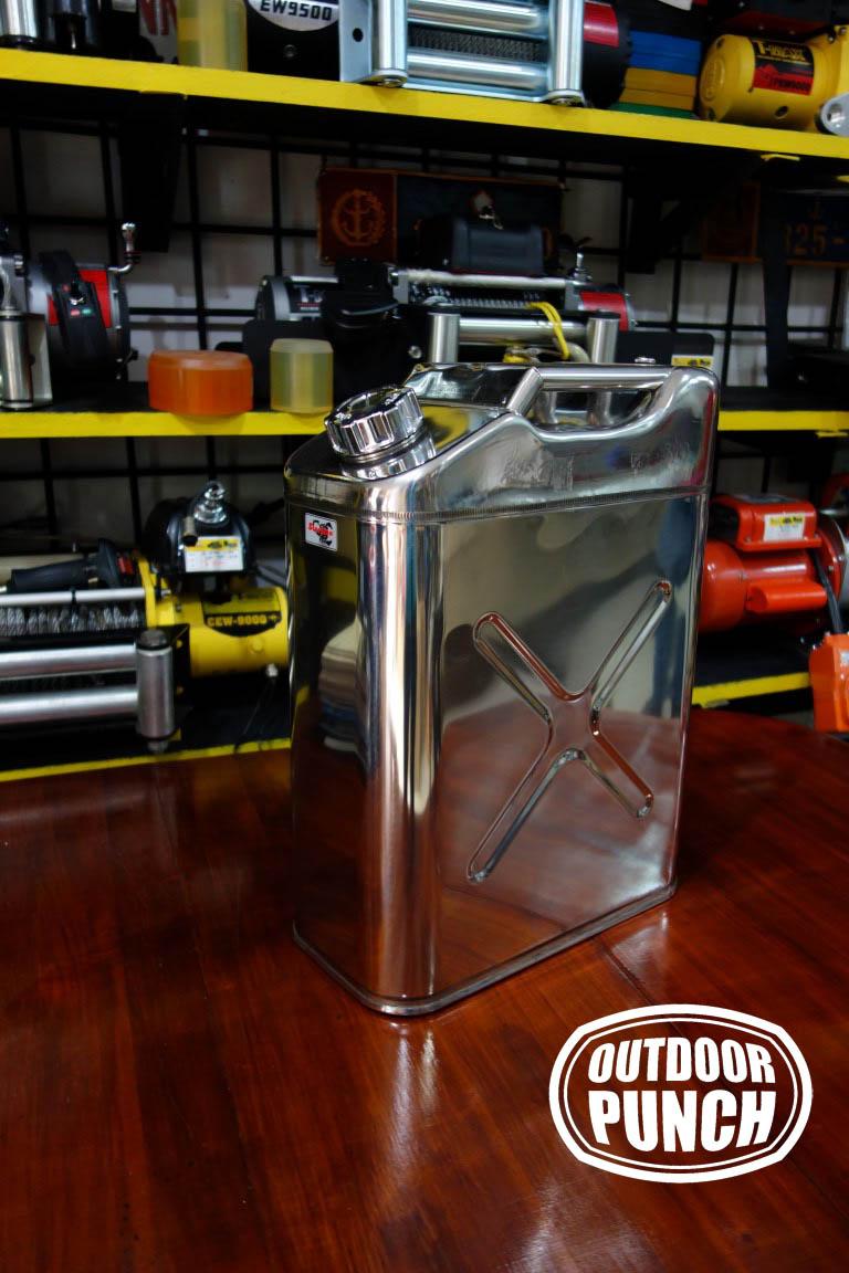 Stainless Jerrycan 20 liter (Jerigen)