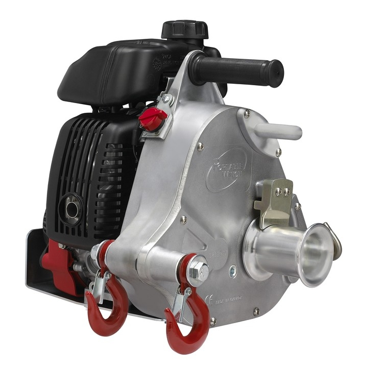 Gas-powered pulling winch PCW5000  (Portable Winch)