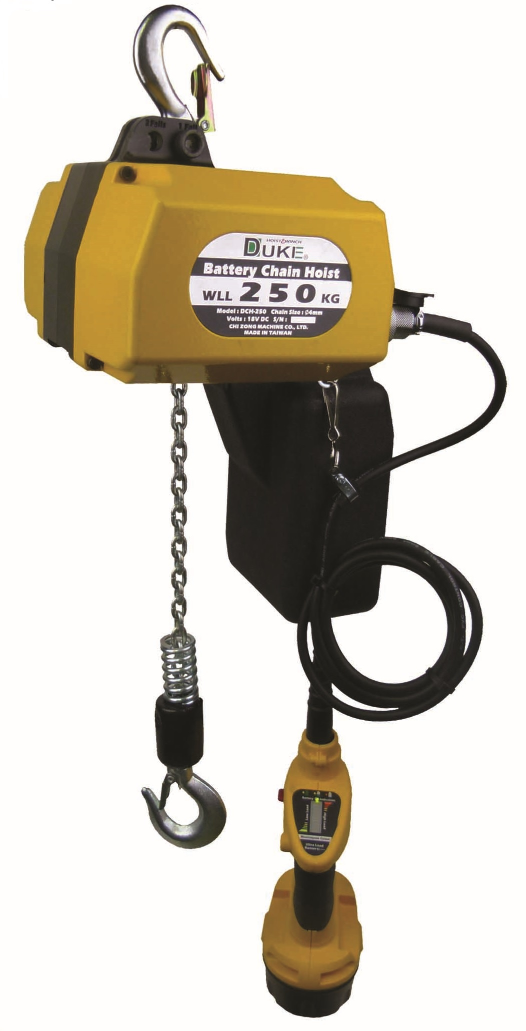 Battery Baby Hoist DCH-250